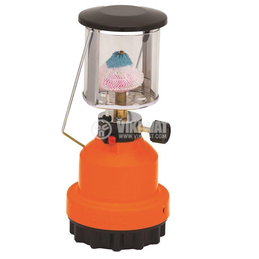 Къмпинг туристическа  лампа PREMIUM GAS газова 190гр.