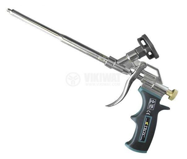 Пистолет за полиуретанова пяна тефлоново покритие TROY T 18002