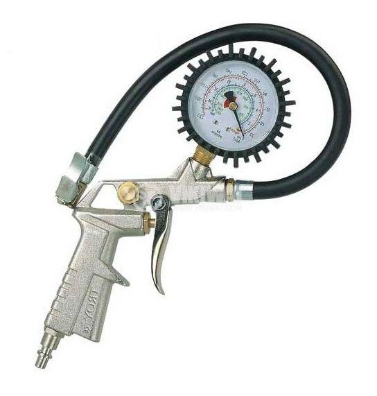 Пневматичен пистолет за гуми 10bar TROY T 18604