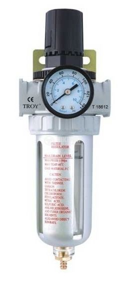 Pneumatic regulator and filter TROY T 18614 - 1