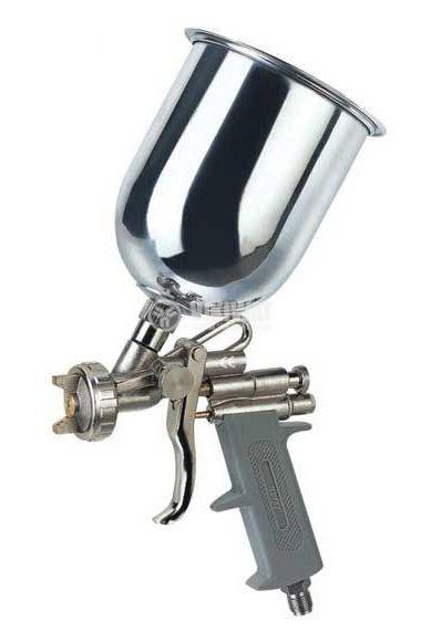 Пневматичен бояджийски пистолет 1/4″ дюза 2.5mm 3.5bar TROY T 18673