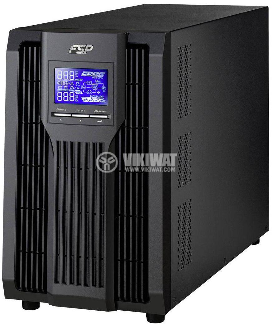 Аварийно захранване UPS Champ 3K, 120~300VAC, 2700W, истинска синусоида - 1