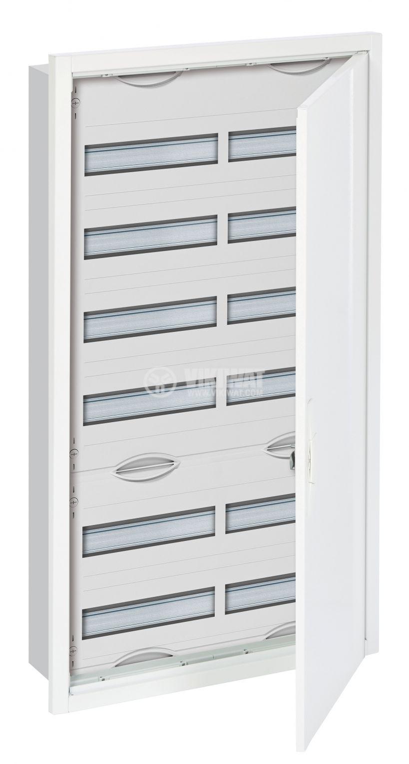 Разпределително табло U62, 6x24 модула, ABB, за вграждане, бял цвят, метална врата 2CPX030111R9999