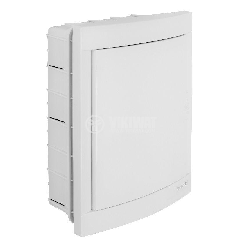 Апартаментно табло, BQDT1161, 2x8 модула, PANASONIC, за вграждане, бял цвят