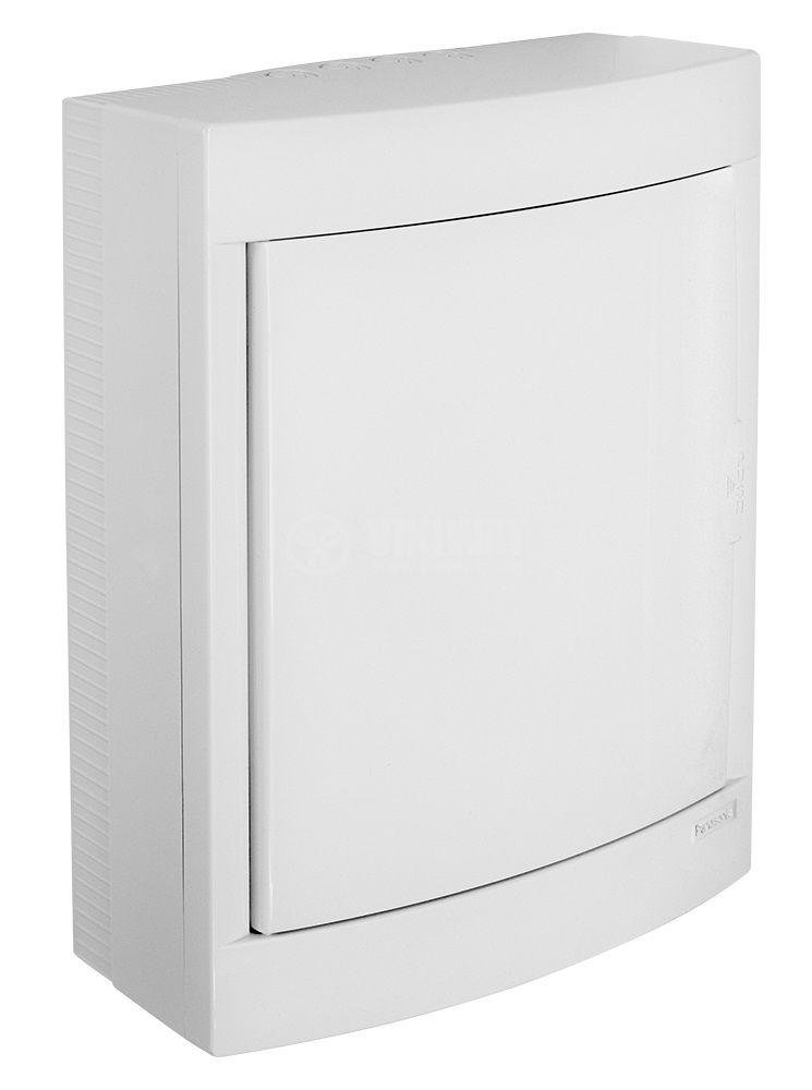 Апартаментно табло, BQDT2241, 2x12 модула, PANASONIC, за външен монтаж, бял цвят