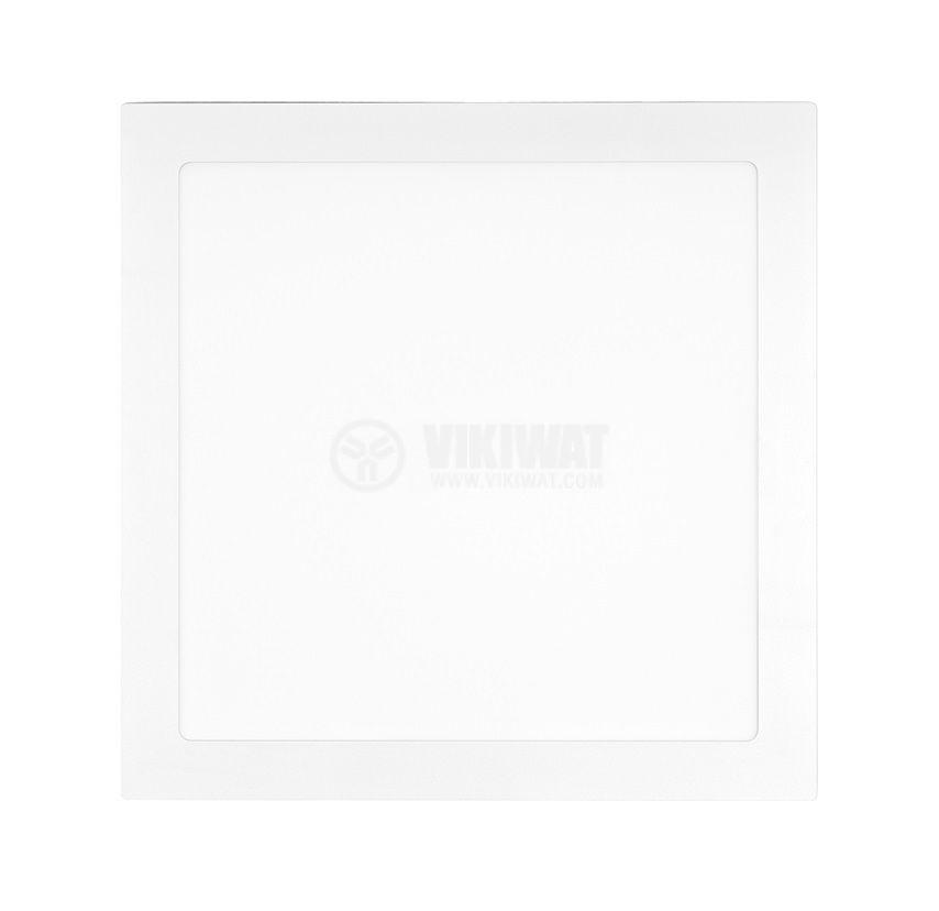LED панел за обемен монтаж 18W квадрат 230V 1350lm 4000K неутрално бял 225х225mm - 2