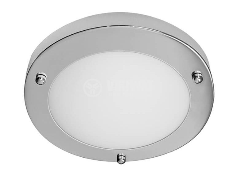 Плафон SERENA SMALL 8010/C за баня G9 до 40W 230V ф183x48mm IP44 хром