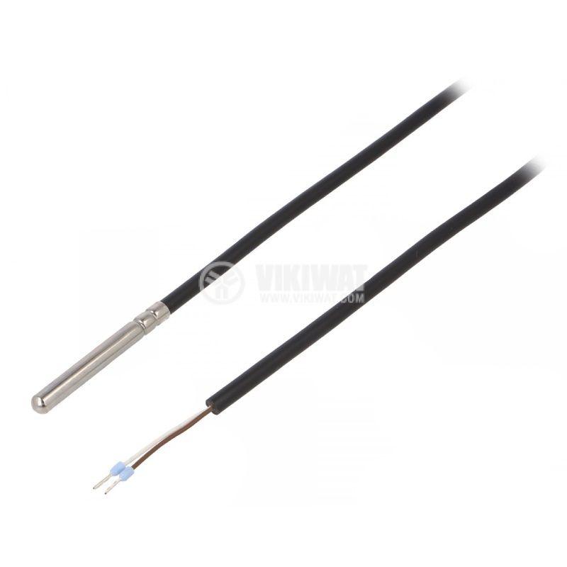 Терморезистор тип Pt100, TT4M-PT100B-T105-1500, -40°C до 105°C, ф6x50mm - 1
