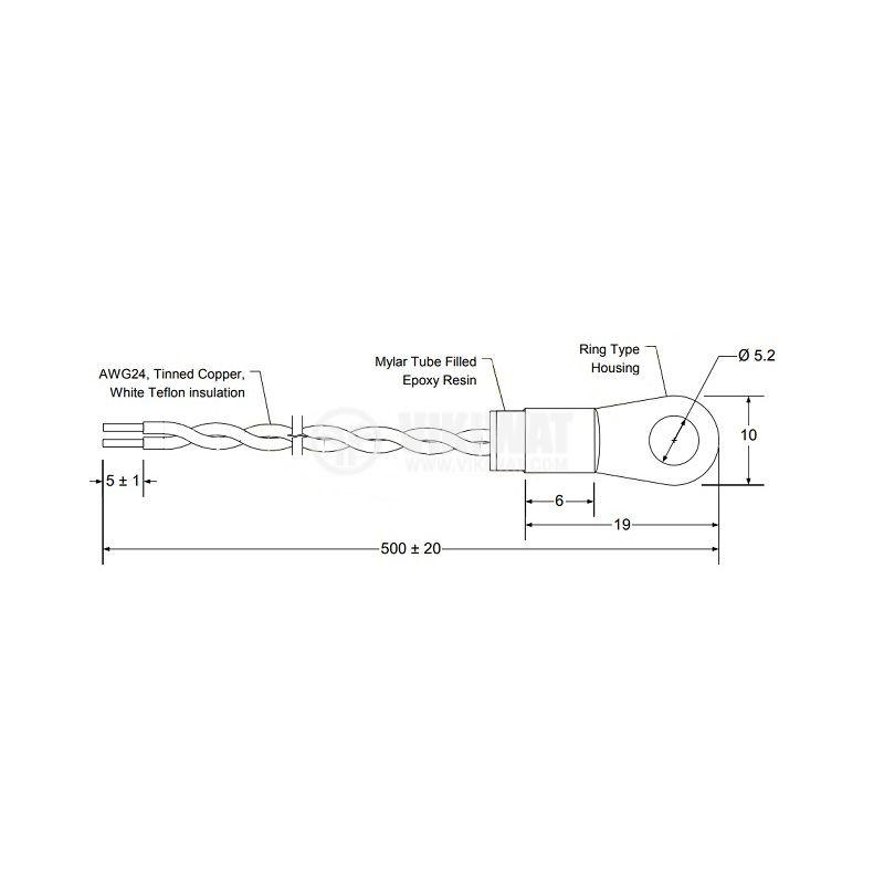 TT4M-PT100B-T125-M5-500 - 2