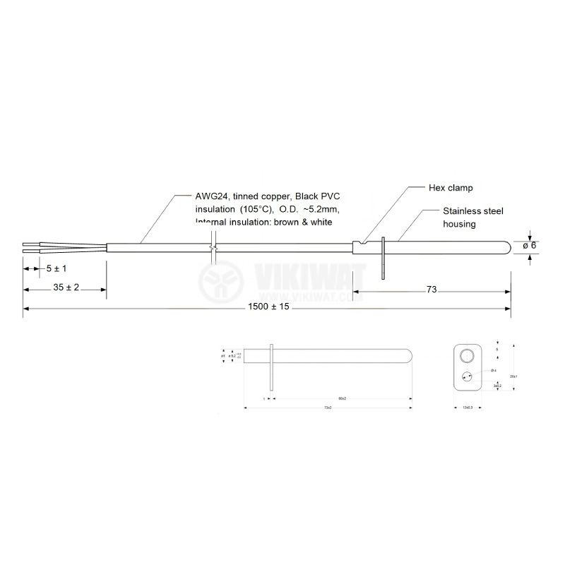 TT4-PT100B-T105-OM55-1500 - 2