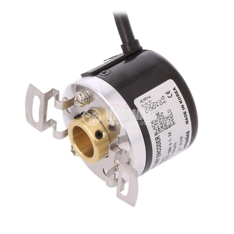 Енкодер инкрементален, 12~24VDC, 1000имп./об, ф12mm, E40H12-1000-3-T-24