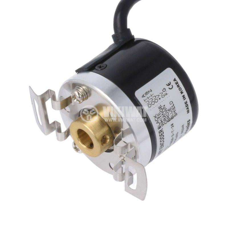 Енкодер инкрементален, 12~24VDC, 1024имп./об, ф8mm, E40H8-1024-3-T-24