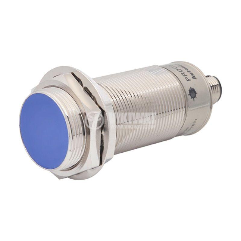 Proximity Switch PRDCML30-15DN, 10~30VDC, NPN, NO, 15mm, M30x85.8mm, shielded for socket
