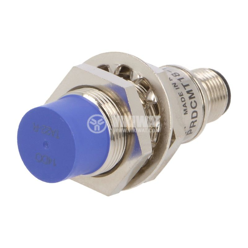 Proximity Switch PRDCMT18-14DO, 10~30VDC, NO, 14mm, M18x58mm, unshielded for socket