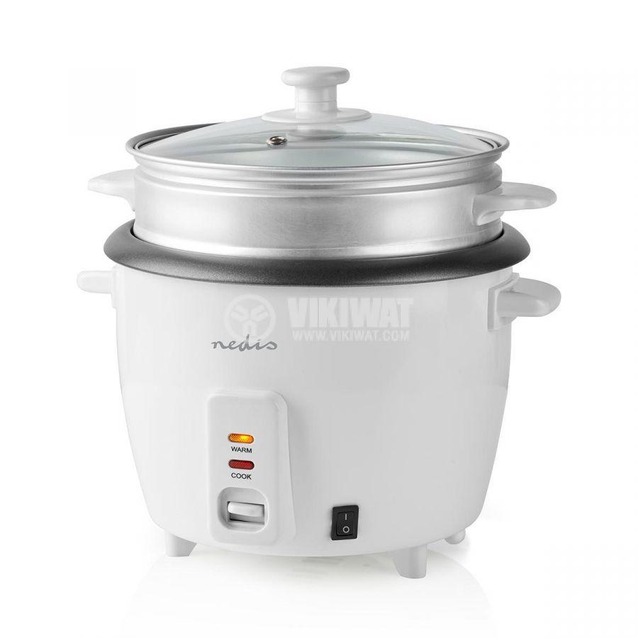 Rice cooker 1500ml 230V 500W white NEDIS KARC15WT - 5