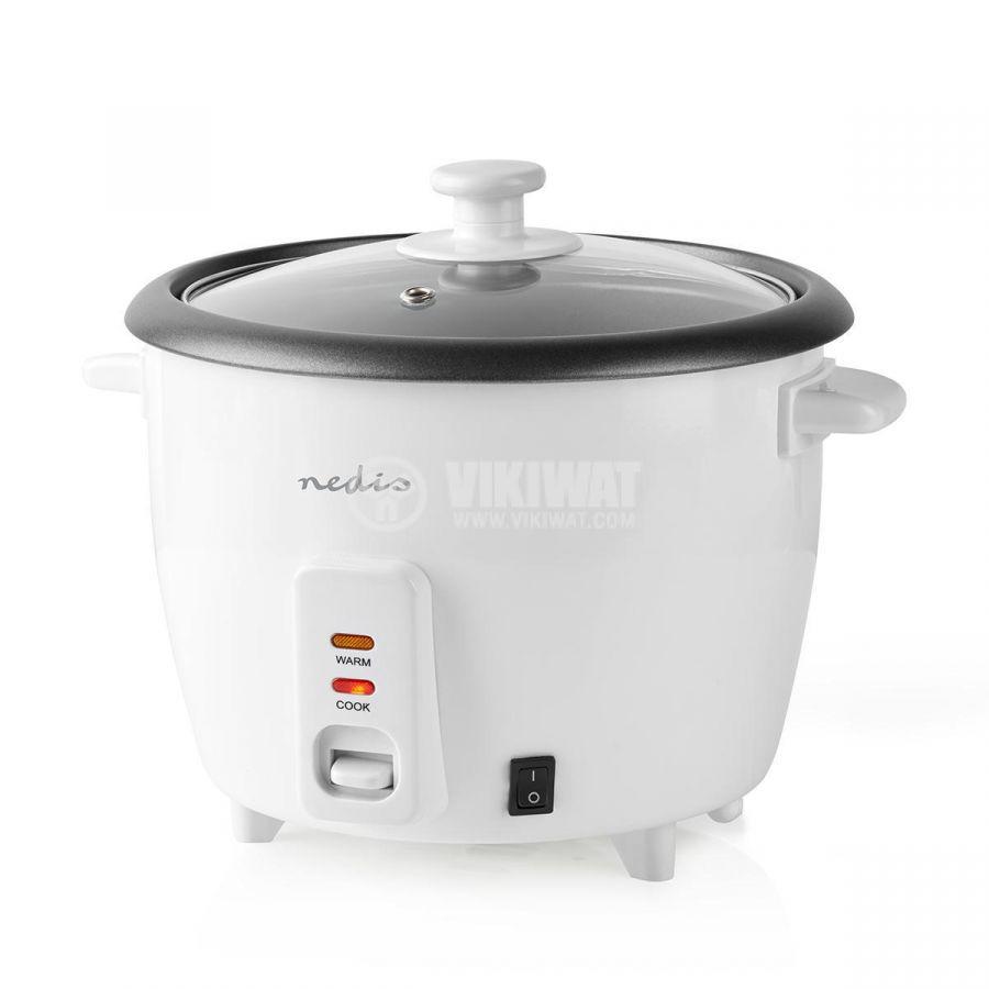 Rice cooker 1500ml 230V 500W white NEDIS KARC15WT - 4