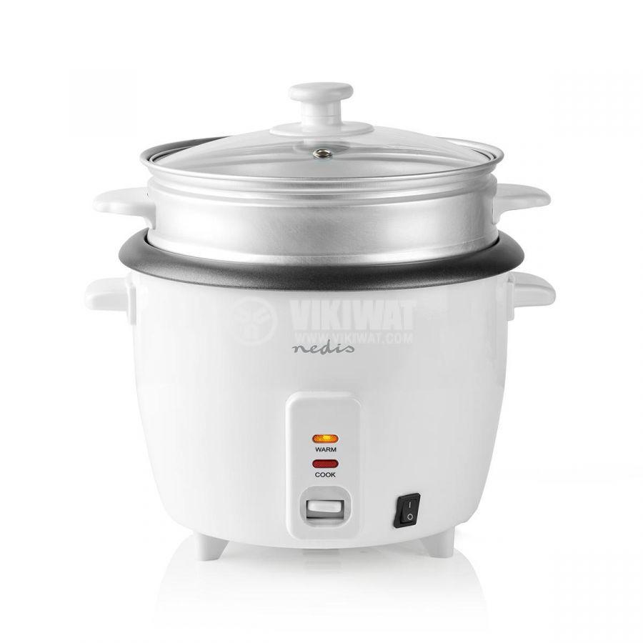Rice cooker 1500ml 230V 500W white NEDIS KARC15WT - 2