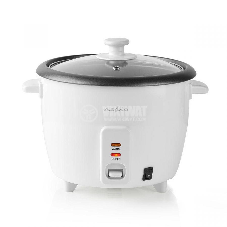 Rice cooker 1500ml 230V 500W white NEDIS KARC15WT - 1