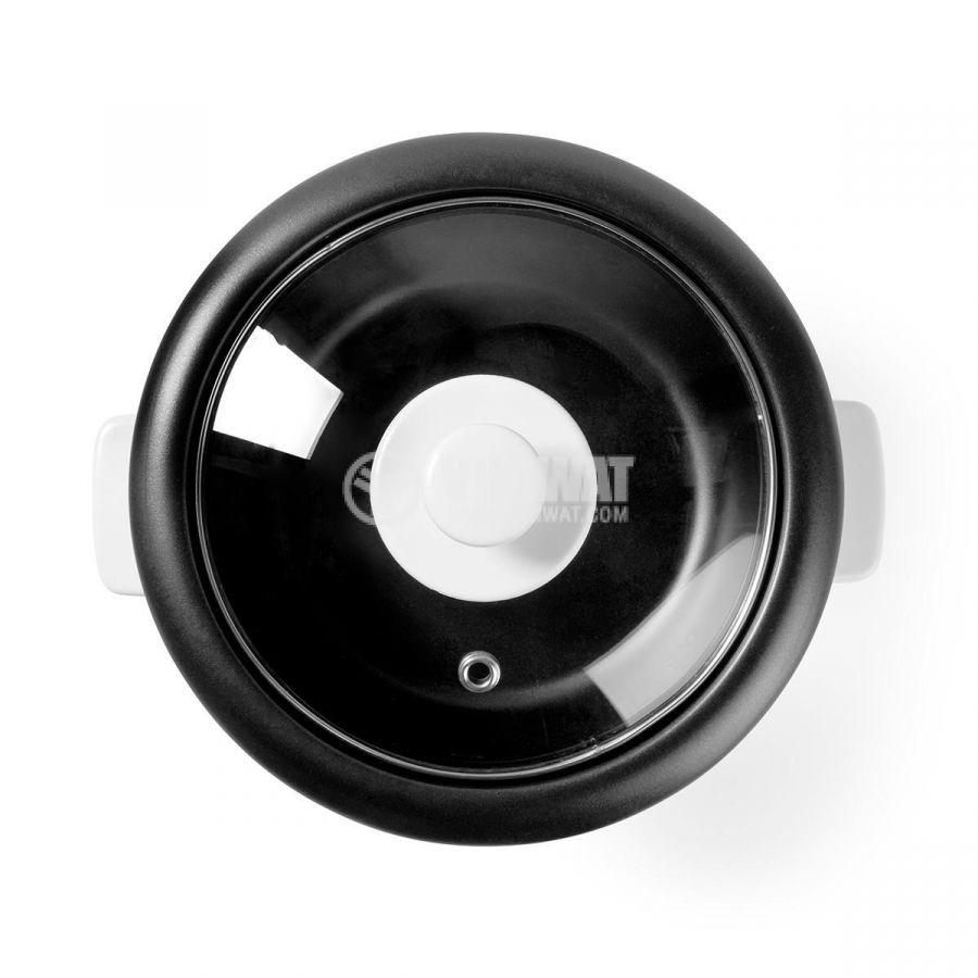 Rice cooker 600ml 230V 300W white NEDIS KARC06WT - 3