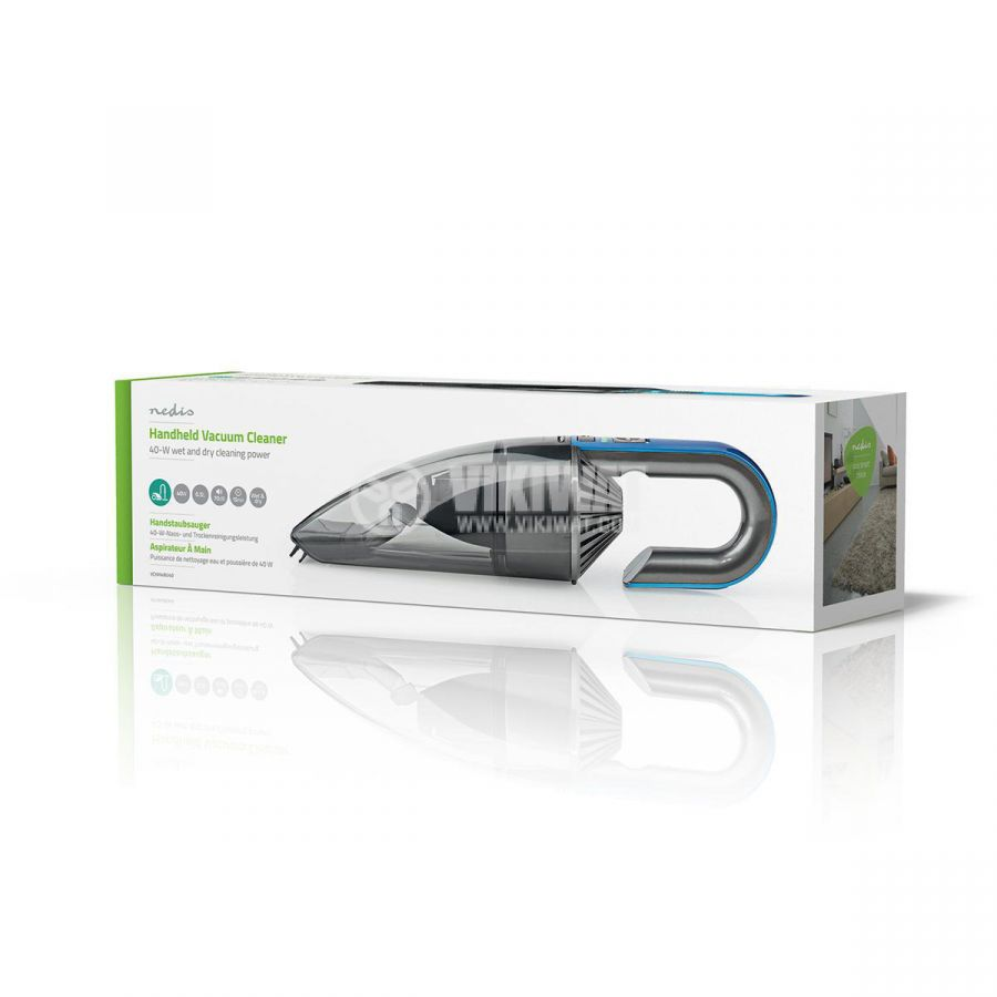 Ръчна прахосмукачка VCHH4BU40 с батерии, 40W, 15min, резервоар 0.5 л. - 8