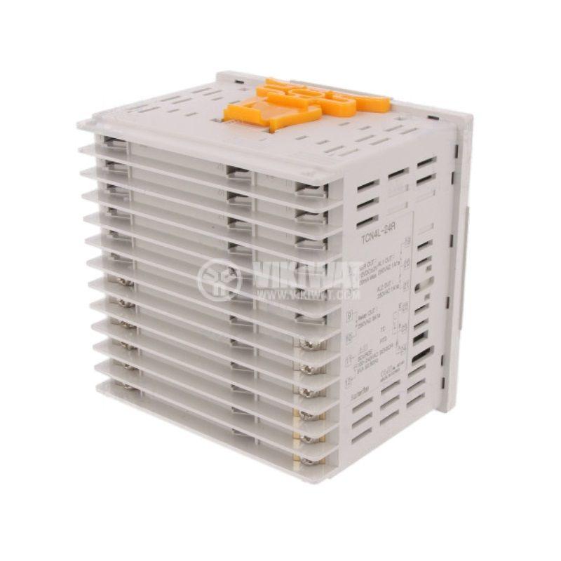 Temperature regulator TCN4L-24R, 100~240VAC, -100~1700°C, Cu50, Pt100, J, K, L, R, S, T - 2