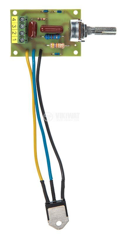 Фазов регулатор на мощност до 3000W, 220VAC - 1