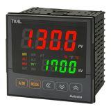 Temperature regulator TK4L-14RC, 100~240VAC, 0.1~1700°C, Cu100, Cu50, JPt100, Ni120, Pt100, Pt50, B, C, E, G, J, K, L, N, PLII, R, S, T, U, 2 relay+ SSR