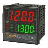 Temperature regulator TK4M-14RN, 100~240VAC, 0.1~1700°C, Cu100, Cu50, JPt100, Ni120, Pt100, Pt50, B, C, E, G, J, K, L, N, PLII, R, S, T, U, 2 relay
