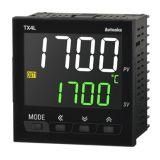 Temperature regulator TX4L-14R, 100~240VAC, 0.1~1200°C, Cu50, Pt100 J, K, L, R, S, T, 2 relay