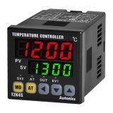 Temperature regulator TZN4S-14C, 100~240VAC, 0~2300°C, Cu50, Pt100 J, K, L, R, S, T, current+alarm