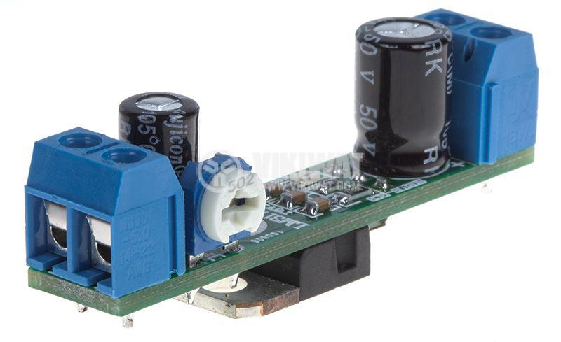 Регулатор на напрежение LM317 Reg. rev.1, 3.7/36VDC - 1.3/30VDC - 2