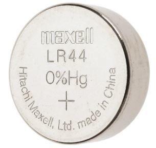 Плоска батерия MAXELL LR44 1.5V 55mAh - 1