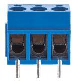 PCB терминален блок, с изолационни прегради, 3 пина, 24А, за печатен монтаж