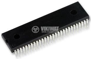 Интегрална схема SAA5246P/H,  SAA5246AGP, SMD, демонтирана