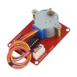 Electric motor with controller OKY3194, DC, 5VDC, stepper, 5.625 °