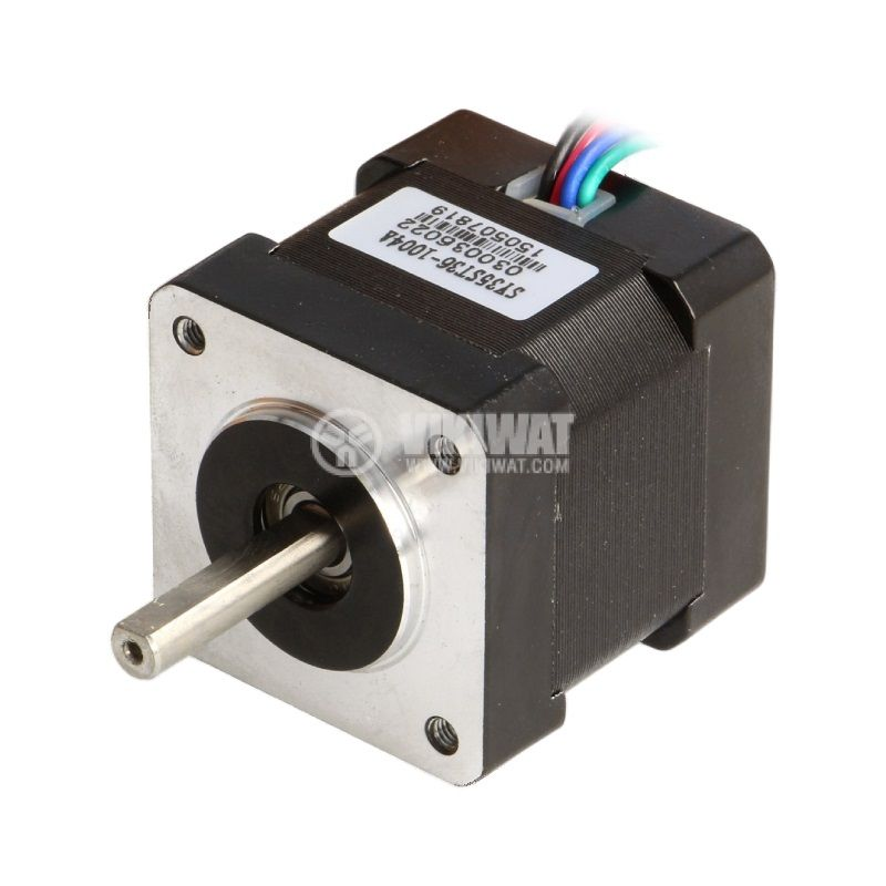 Електродвигател POLOLU-1209, постояннотоков, 2.7VDC, стъпков, 1.8°, биполярен
