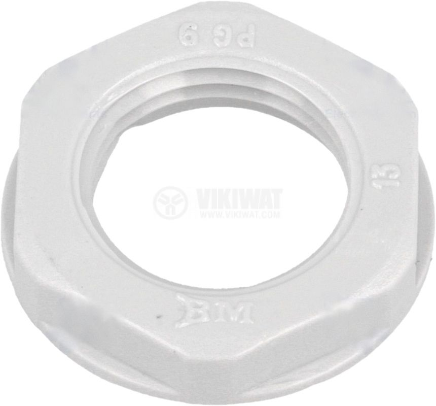 Nut for cable gland PG9 polyamide BM GROUP 4809