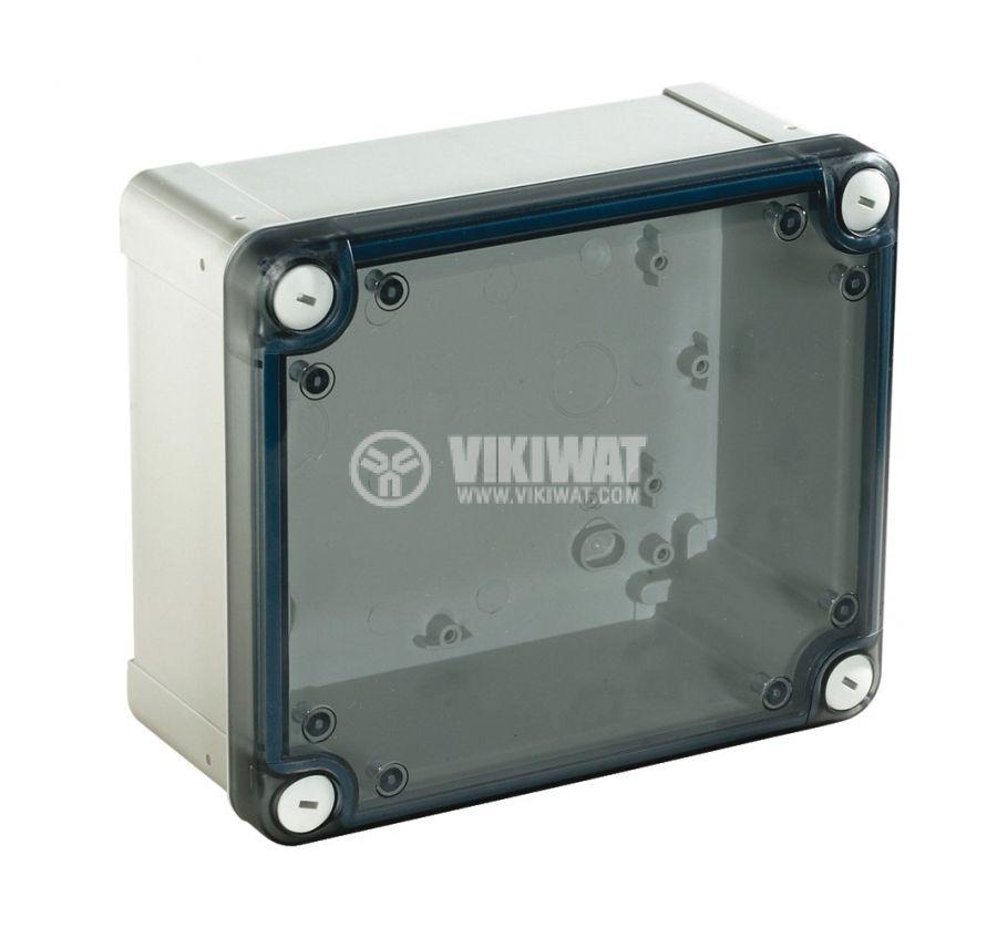 Универсална разклонителна кутия NSYTBS19128T за стенен монтаж, 121x192x87mm, ABS
