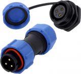 Industrial connector DS1110-25-03BU8