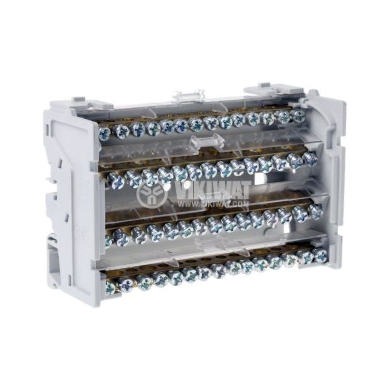 Разпределителен клемен блок 4888, 4P, 8 модула, 125A, 400V - 2