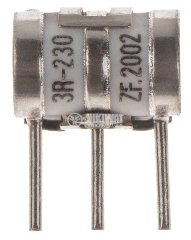 Газоразрядник 3R, 230V, ZF-2002 - 1