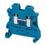 Редова клема, едноредова, NSYTRV22BL, 20A, 600V, 2.5mm2, синя