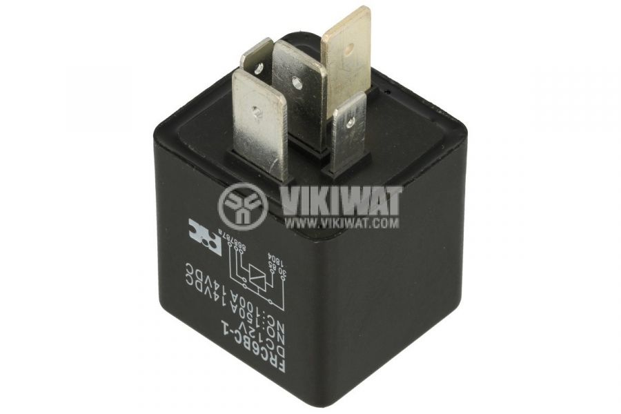 Реле бобина 12VDC, 100A/12VDC, SPDT-NO+NC - 2