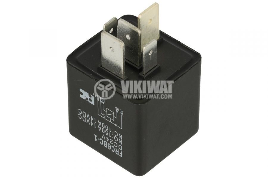 Реле бобина 24VDC, 100A/12VDC, SPDT-NO+NC - 2