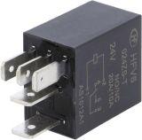 Реле електромагнитно HFV6/024ZS-T, бобина 24VDC, 20A/12VDC, SPDT-NO+NC