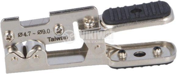 Клещи за оголване и зачистване на кабели - 2