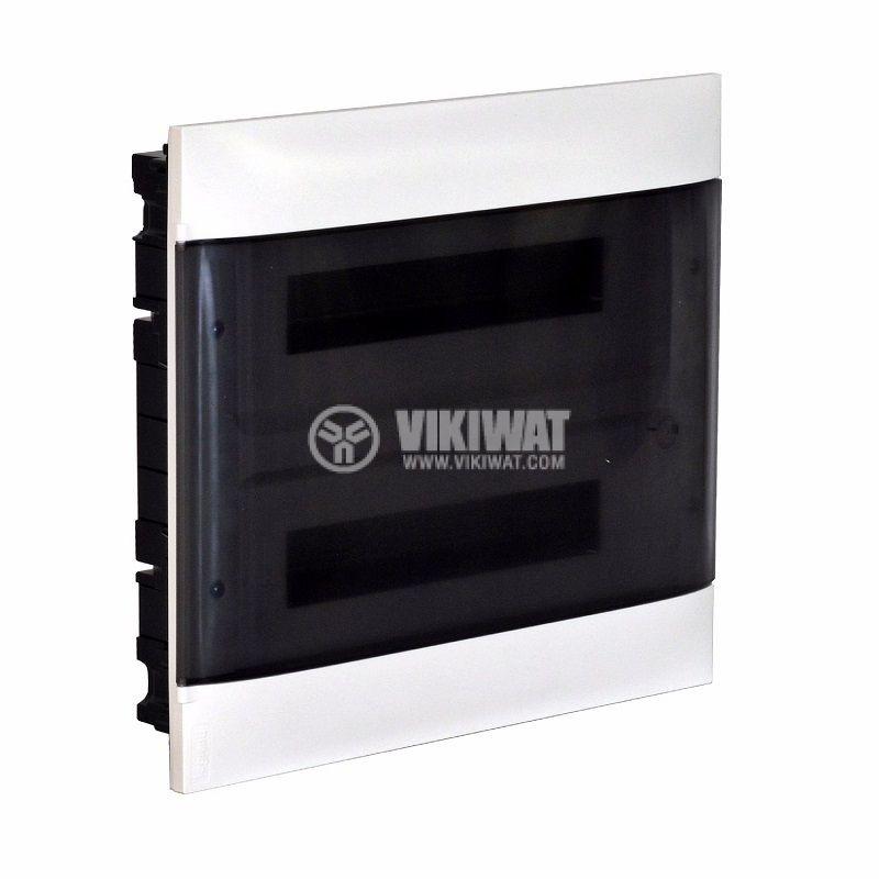 Апартаментно табло, Practibox S 135152, 2x12 модула, LEGRAND, за вграждане, бял цвят