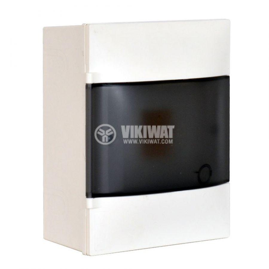 Апартаментно табло, Practibox S 134214, 4 модула, LEGRAND, за външен монтаж, бял цвят