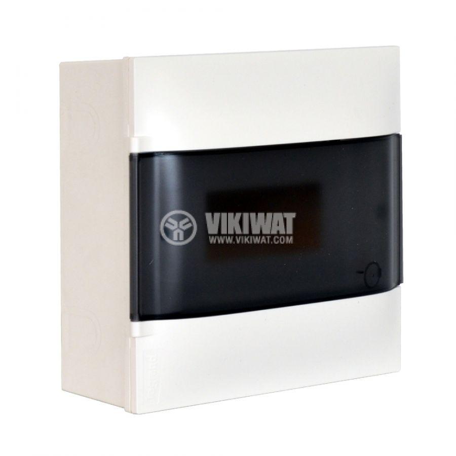 Апартаментно табло, Practibox S 134218, 9 модула, LEGRAND, за външен монтаж, бял цвят