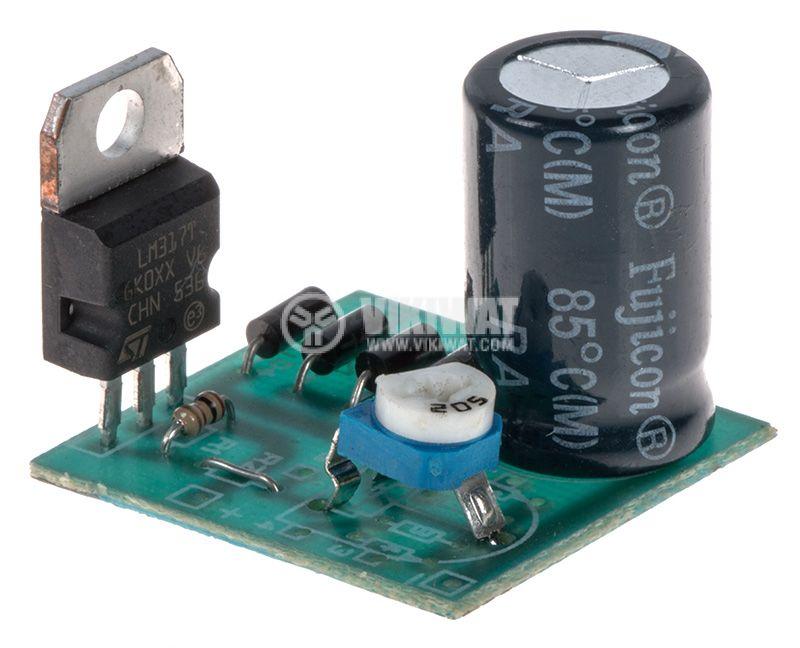 Регулируем изправител от 1.5 до 35VDC/1.5A, КИТ-В331 - 1